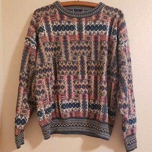 Vintage Oversized Chunky Grandpa Sweater